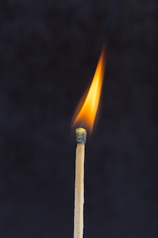 Płonący mecz