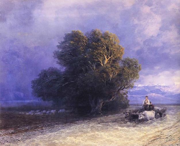 Płótno artystyczne malowanie art aivazovsky olej ivan