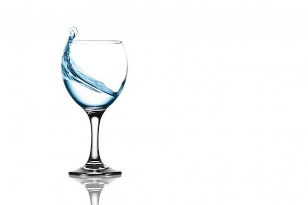 Plusk wody w lampce
