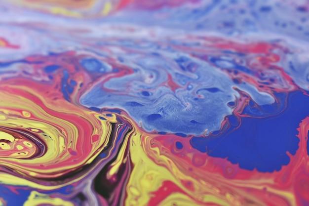 Płynna grafika olejna - idealna na artystyczną lub tapetę
