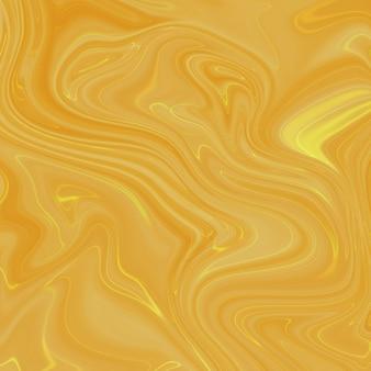 Płynna marmurkowa brązowa farba tekstura tło.