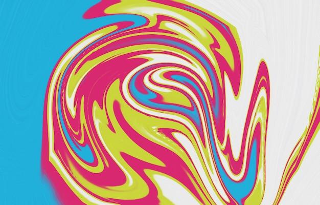 Płynna tekstura sztuki tło z abstrakcyjnym efektem mieszania farby płynny obraz akrylowy z przepływami