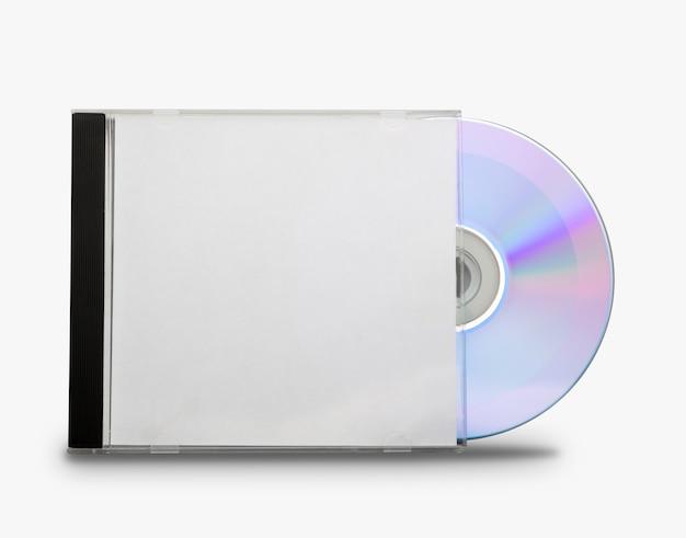 Płyta cd w otwartym pudełku