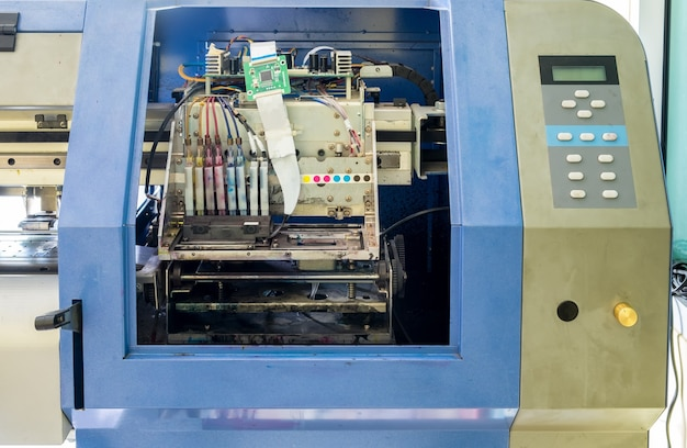Płytka drukowana kontrolera drukarki atramentowej