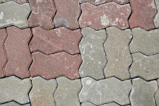 Płytki chodnikowe z cegły