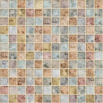 Płytki Dekoracyjne Z Fakturą Kamienia Naturalnego. Mozaika. Element Do Projektowania Wnętrz. Tekstura Tła Premium Zdjęcia
