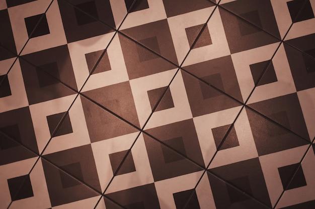 Płytki podłogowe w kształcie kwadratów