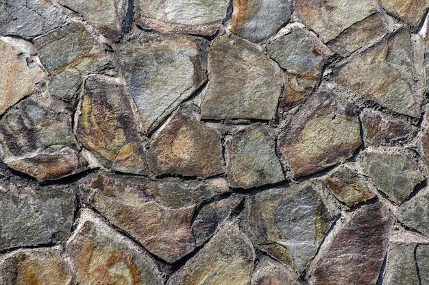 Płyty z kamienia wulkanicznego do ścian naturalnych. naturalne tło.