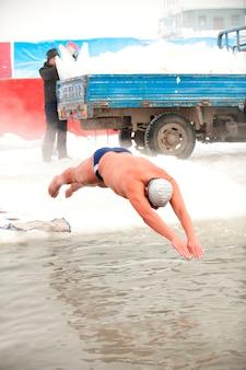 Pływanie po lodzie