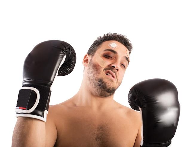 Pobity bokser