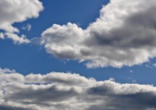 Pochmurny dzień, niebo
