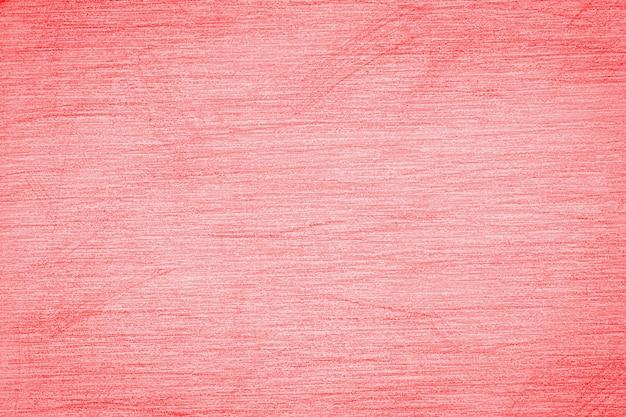 Pociągnięcia ołówkiem na papierze, rysunek ołówkiem tekstury streszczenie tło tonie w modnym kolorze 2020 rok płomień szkarłatny.