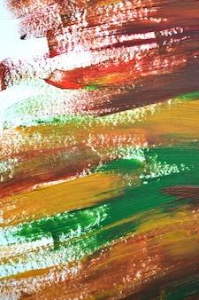 Pociągnięcia pędzlem makro wielokolorowe farby olejne. motley streszczenie twórcze tło. na białym tle.