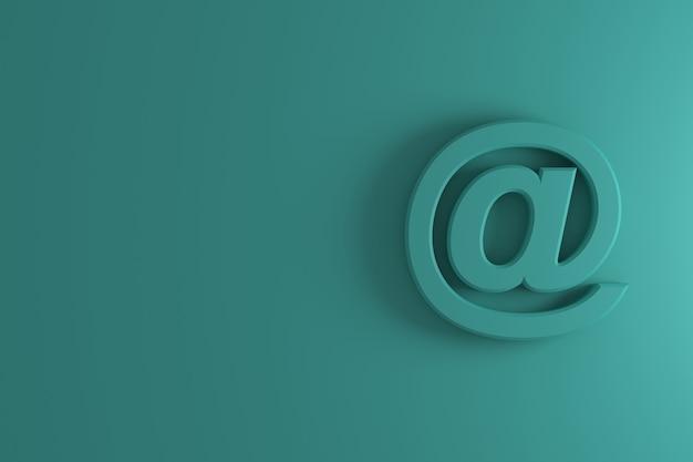 Pod szyldem lub szyldem adresu znak. renderowanie 3d.