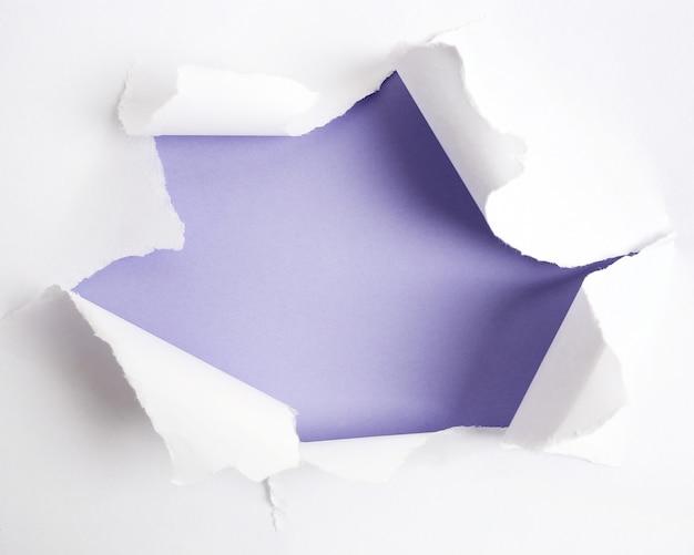 Podarty papier