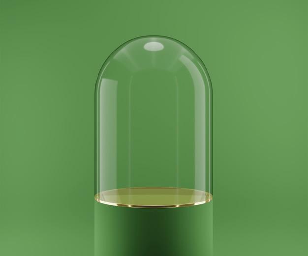 Podium abstrakcyjnej geometrii do wyświetlania produktów