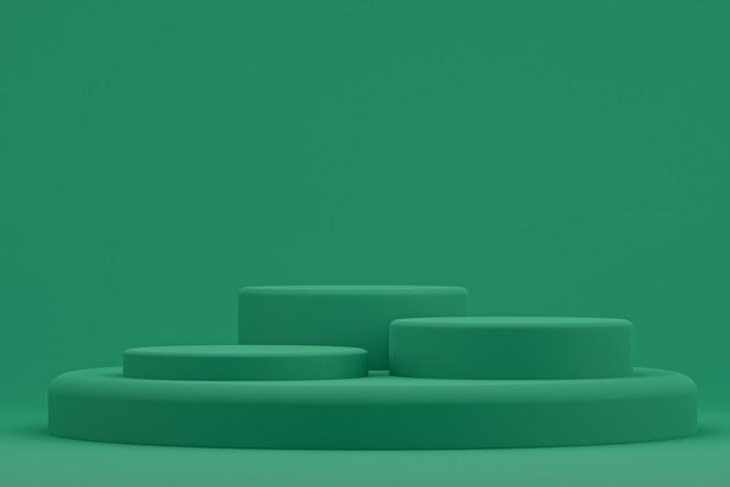 Podium minimum lub stojak produktowy do prezentacji produktów kosmetycznych