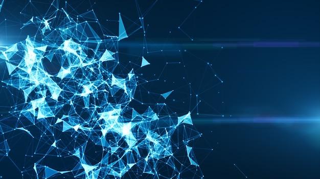Podłączony internet sieci cyfrowej
