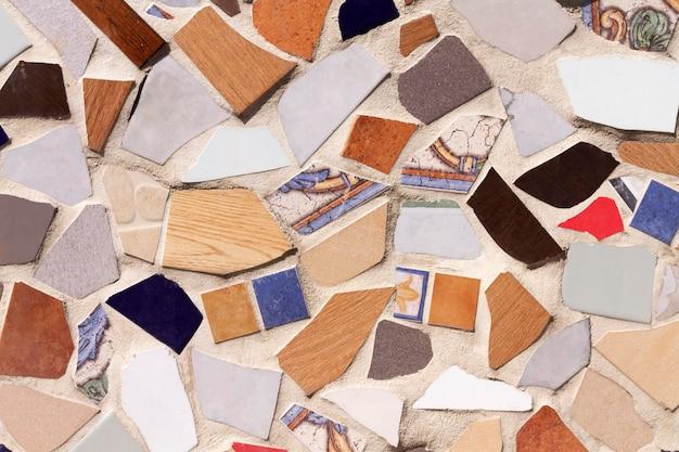 Podłoga kolorowe tło mozaiki