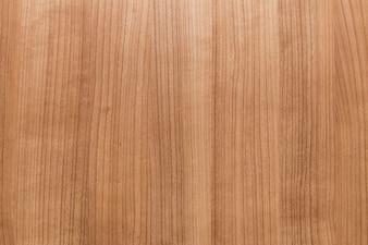 Podniesiony widok brązowej drewnianej podłogi