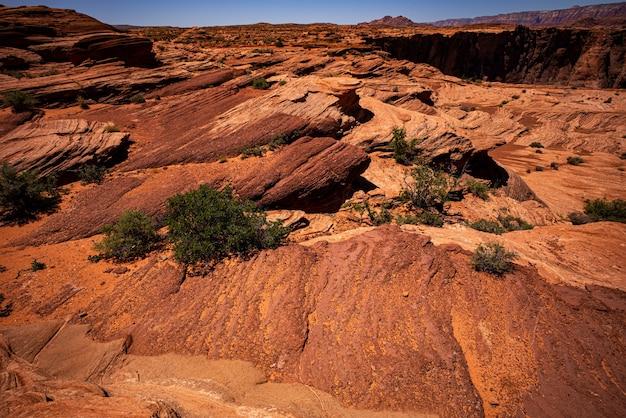 Podróż do usa park narodowy wielkiego kanionu panorama arizona usa z południowego obrzeża niesamowity panoramiczny obraz...