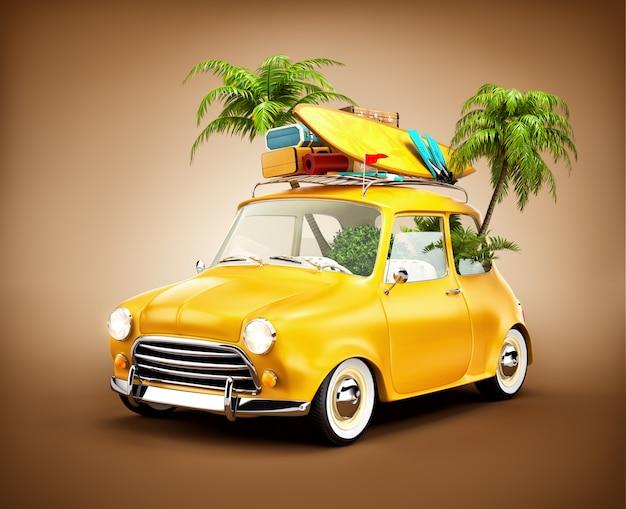 Podróż samochodem i turystyka