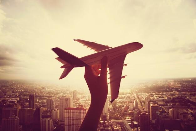 Podróż samolotem podróży samolotem