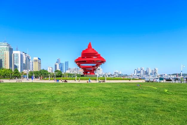 Podróżnicza wieża widok chińskie wakacje