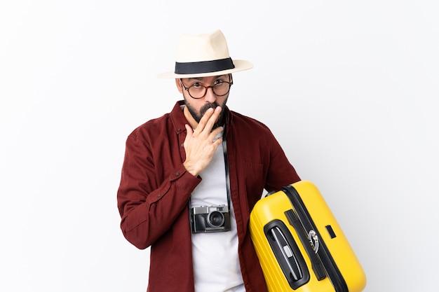 Podróżnik człowiek z walizką