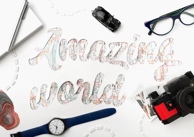 Podróżuj po świecie z przedmiotami