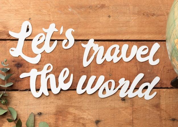 Podróżuj po świecie z rośliną