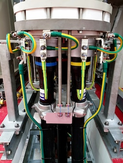 Podstacja z izolacją gazową 115kv instalacja kabla zasilającego