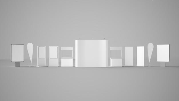 Podstawy elementów wystawy