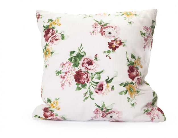 Poduszki na białym tle