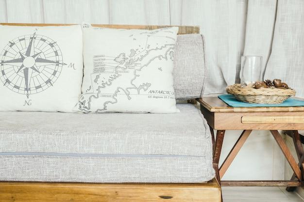 Poduszki wystrój meble mieszkanie dom