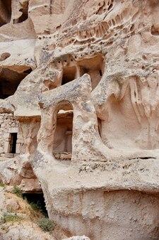 Podziemne miasto kapadocji w skałach
