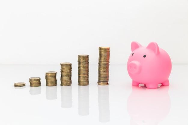 Pojęcie czasu i pieniędzy. inwestowanie w twój czas.