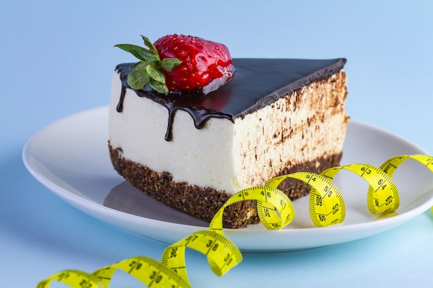 Pojęcie diety. wysokokaloryczne, węglowodanowe, słodkie jedzenie