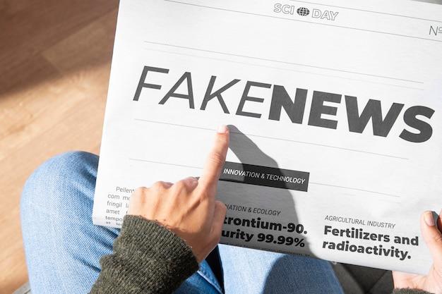 Pojęcie fałszywych wiadomości