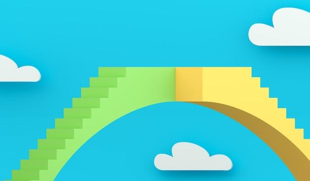 Pojęcie metafora schody łukowy most i przepaść.