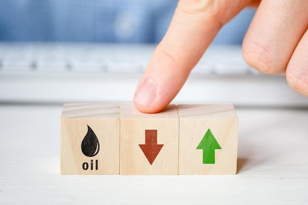 Pojęcie obserwacji w celu zmniejszenia kosztów ropy.