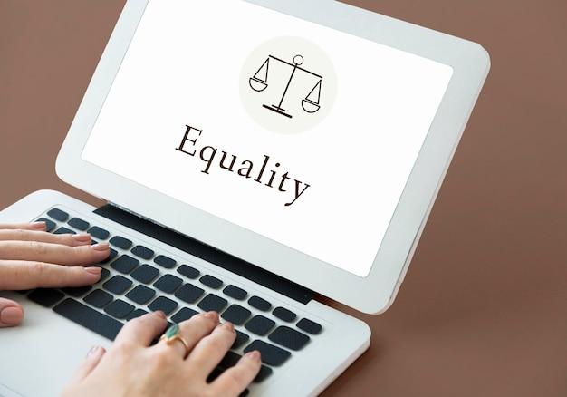 Pojęcie równości wyrok sądowy sprawiedliwość