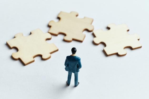 Pojęcie rozwiązywania problemów w biznesie i pracy