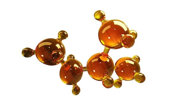Pojęcie struktury modelu oleju silnikowego lub gazu