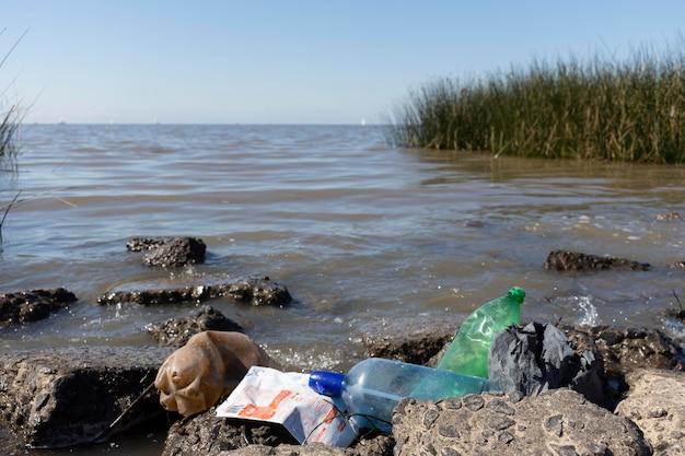 Pojęcie zanieczyszczenia wody ze śmieciami