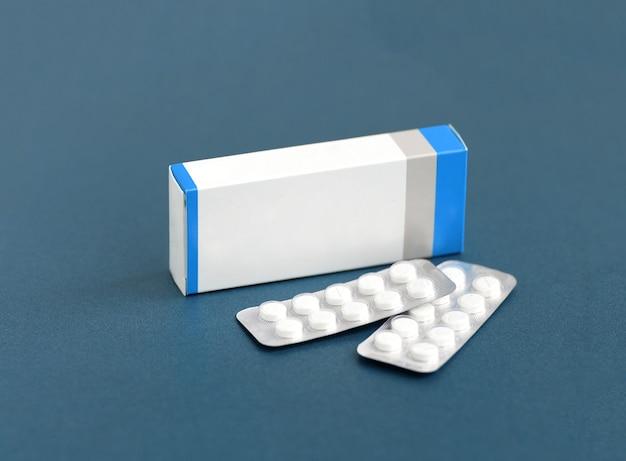 Pojemnik na leki, blister na tabletki