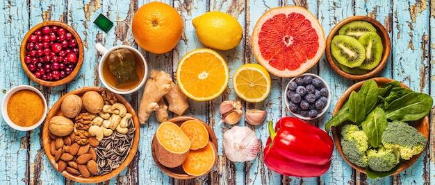 Pokarmy, które wzmacniają widok z góry układu odpornościowego