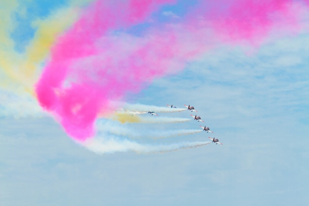 Pokaz lotniczy patrulla aguila