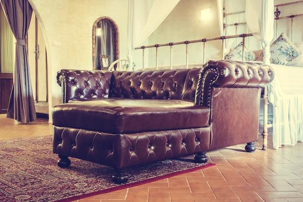 Pokój dekoracji ściany krzesło