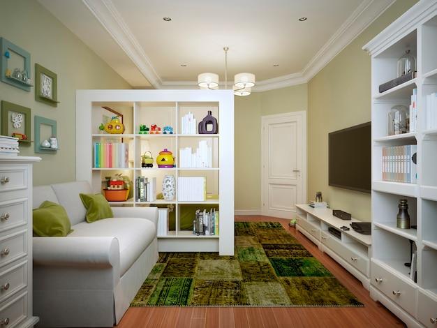 Pokój dziecięcy dla chłopca w nowoczesnym stylu